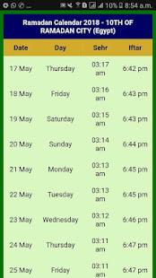 Download Ramazan Calendar 2018 Egypt For PC Windows and Mac apk screenshot 5