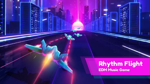 Rhythm Flight: EDM Music Game screenshots 1