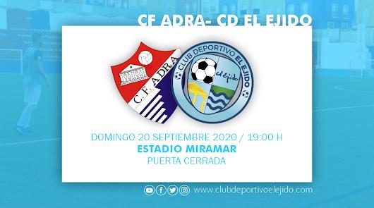 El CD El Ejido juega este domingo en Adra