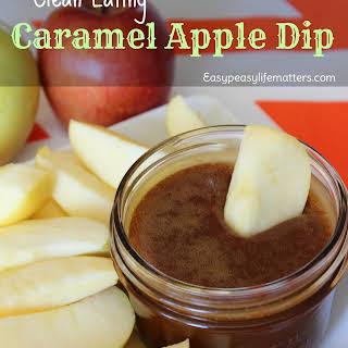 Clean Eating Caramel Apple Dip.