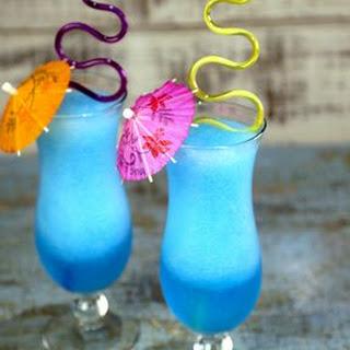 Grown-Up Blue Slushie.
