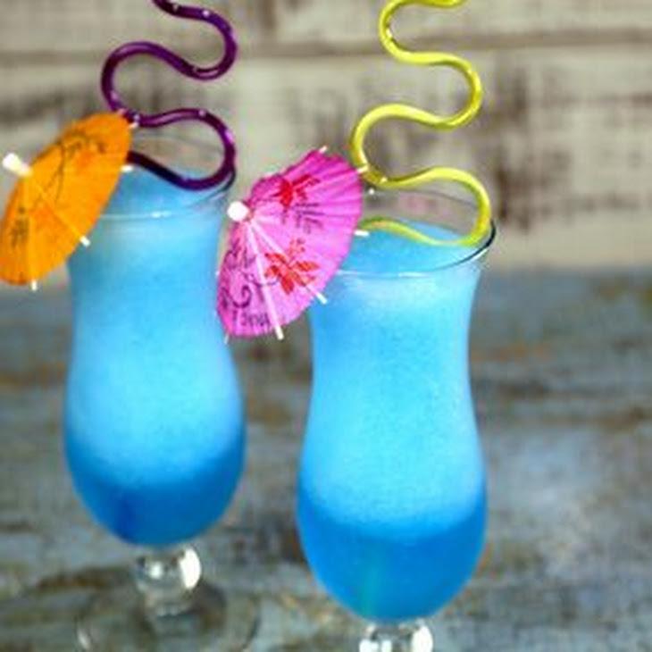 Grown-Up Blue Slushie