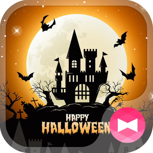 A festival Wallpaper Halloween Night Castle Theme Icon