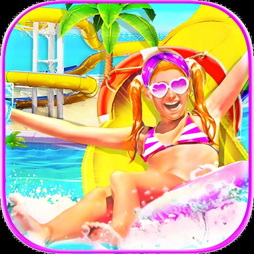 Water Slide Summer Splash - Water Park Fun Game (game)