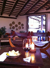 Photo: Staying at a $35 hostel; however, enjoying the amenities, views, ambience, bar, free wifi and great service of the $800/night Inkaterra Hotel.  Machu Picchu Pueblo, Peru.  July 2012.