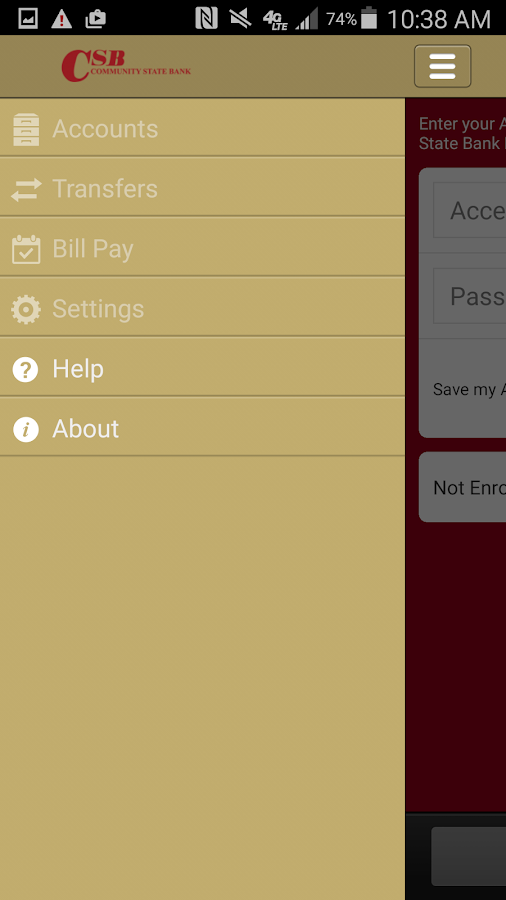 Community State Bank Mobile- screenshot