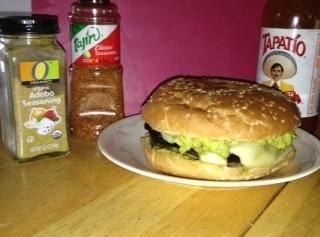 Oh O Portobello Adobo Burger Recipe
