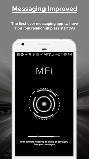Mei: Messaging with AI Screenshot