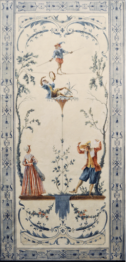 ornement singerie Watteau