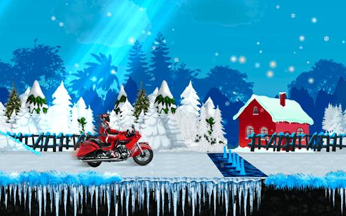 Ledové motokáry - náhled
