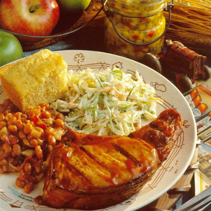 PDQ Barbecue Pork Chops Recipe