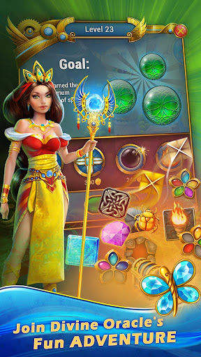 Lost Jewels - Match 3 Puzzle apkpoly screenshots 3