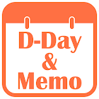 D-Day Counter & Memo Widget icon