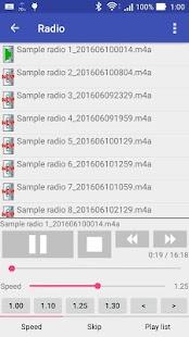 MediaPlayer for Radio Program - náhled