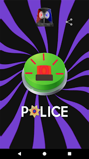 Police Siren Sound Button - náhled
