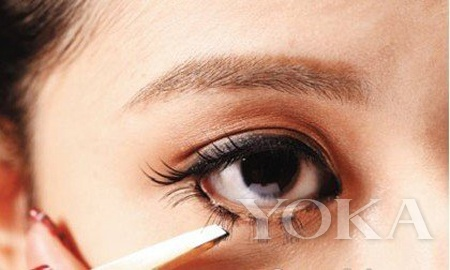Eye Surgery Meng Mei Short Messy Hanging Lower Lashes Magic