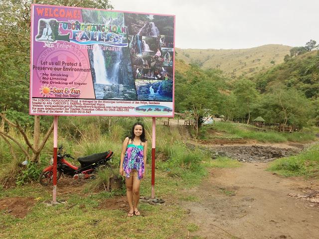 Lubong Nanguloan Falls San Felipe Zambales