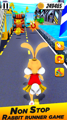 Bunny Runner: Subway Easter Bunny Run 3 screenshots 1