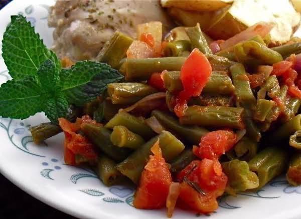 Greek Green Bean Side Dish Recipe