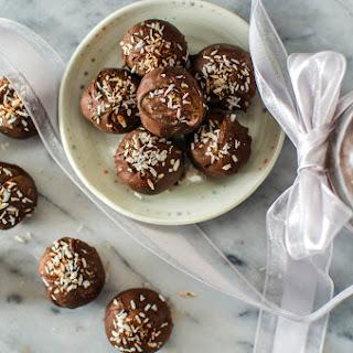 Bourbon Gingerbread Truffles - Vegan and No Bake