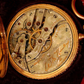 Great Grandfather's Gold Watch by Raphael RaCcoon - Artistic Objects Jewelry ( timepiece, pocket watch, watch, gold, antique )