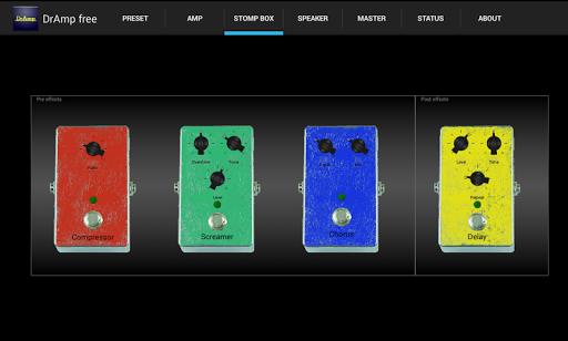 DrAmpFree - USB Guitar Amp 1.56 screenshots 4