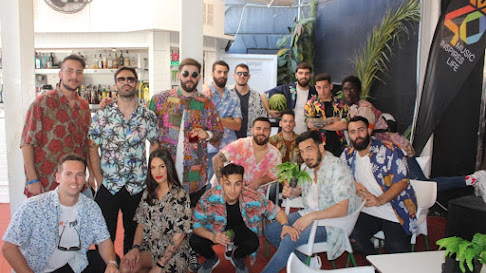 Fiesta Caramelo Aguadulce y Los 40