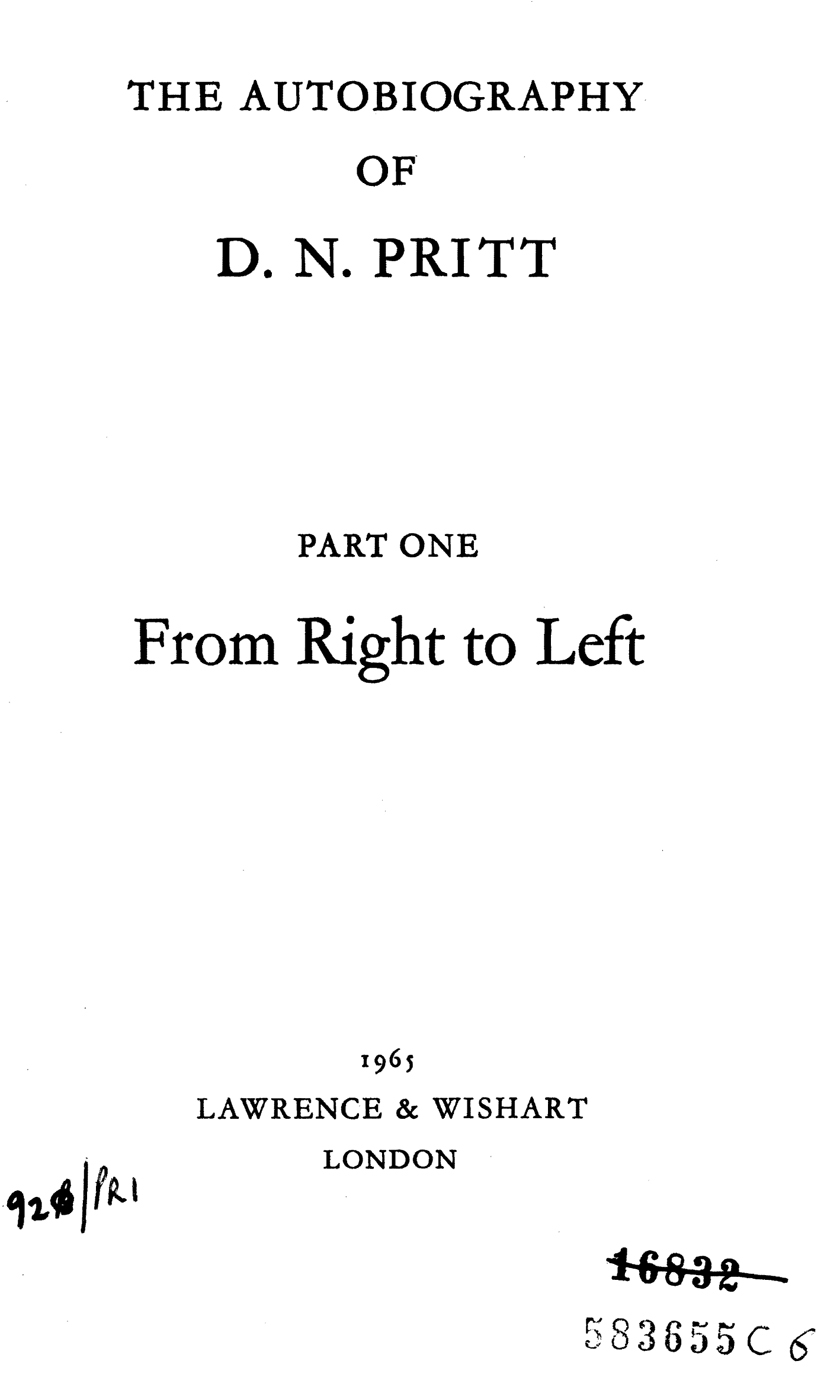 Cover page Autobiography of Denis Pritt.jpg