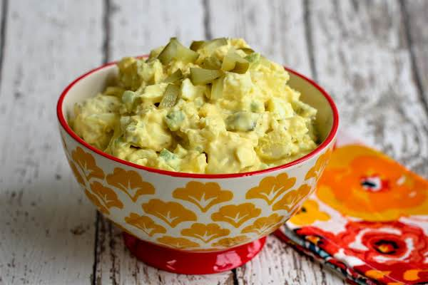 Recipe For Potato Salad With Egg And Mustard