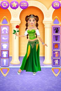 Oblíkačky Arabská princezna - náhled