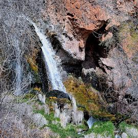 Hidden Falls by Rob Bradshaw - Landscapes Waterscapes ( landscapes, waterscapes, rifle falls, waterfall, hidden falls )