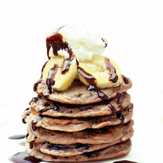 Banana Split Pancakes.