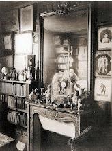 Photo: La chimenea del salón de  EUGÈNE ATGET , 1910