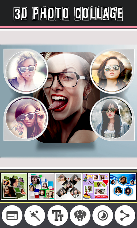 3d Photo Collage Maker Pro Android Apps On Google Play