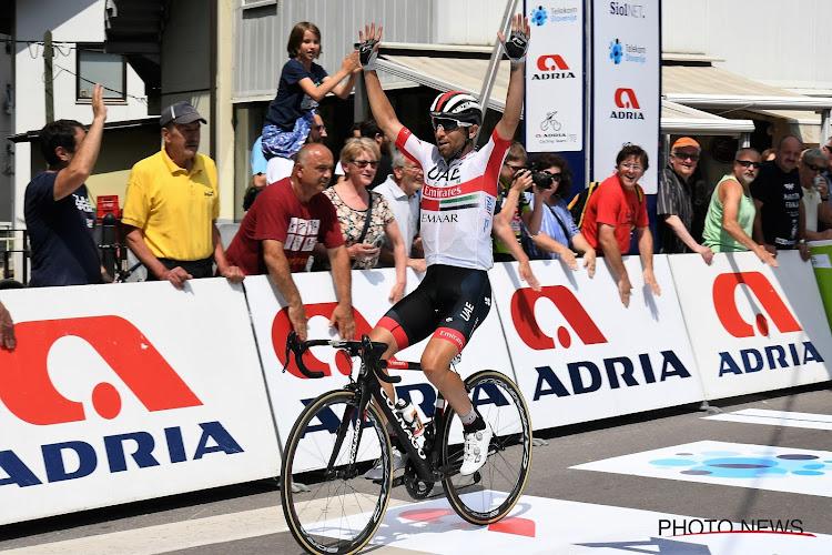 Ulissi pakt zijn tweede etappe in deze Giro! Sagan en co komen te laat