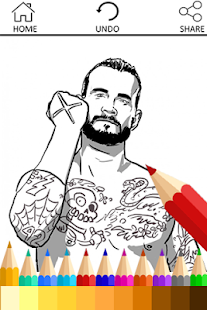 wwe coloring books. Coloring Book for WWE Fans  screenshot thumbnail Android Apps on Google Play