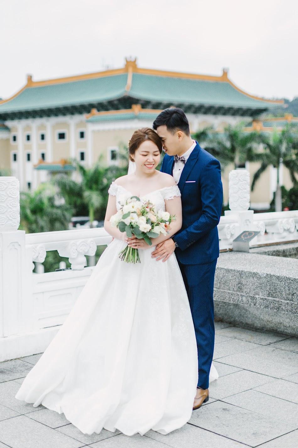 undefined在 台北 的 故宮晶華 婚宴 場地舉行陽光正好的美式 婚禮 , 是每位新娘夢寐以求的西式婚禮樣式!