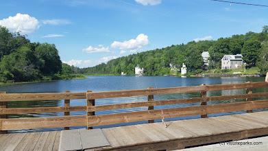 Photo: Floating bridge close to Allis Satate Park