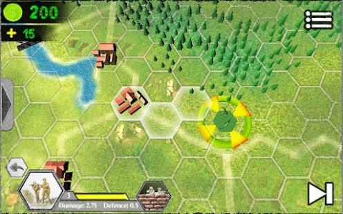 Hex Wars: Eastern Front Free screenshot