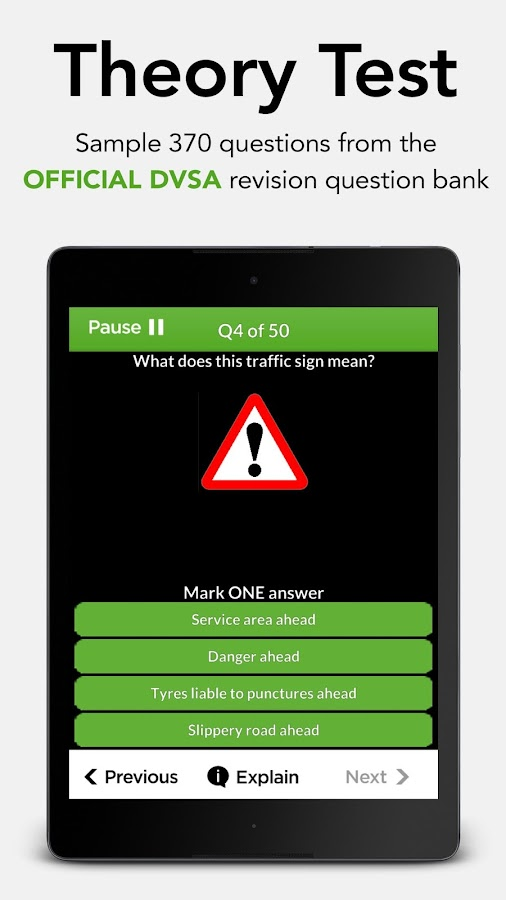 Driving Theory Test Free 2018 for Car Drivers- screenshot