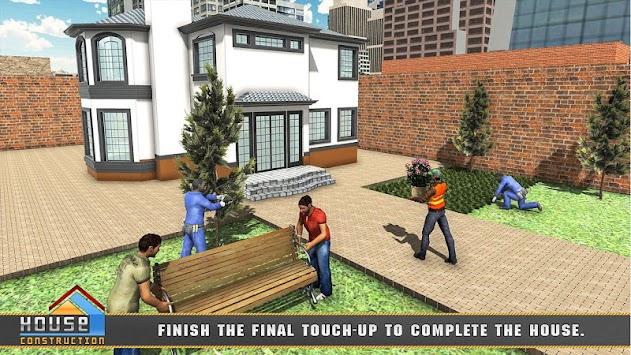 House Building Construction Games - City Builder