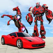 سيارة روبوت التحول لعبة - الحصان روبوت ألعاب