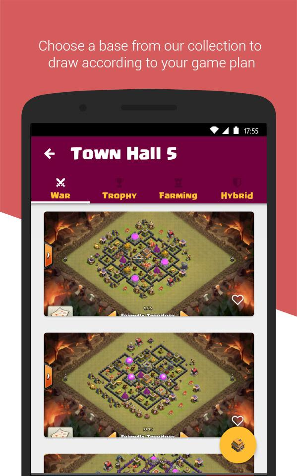 Clash Base Designer for COC Screenshot 1
