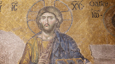 Photo: A lot of the original Christian artwork was covered over when Turkey became Islamic. But a lot of it has been uncovered and the mosaics are impressive.