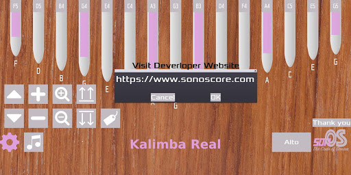 Kalimba Real 1.3.1 screenshots 5