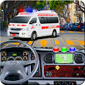 Ambulance Rescue Simulator: Emergency Drive icon