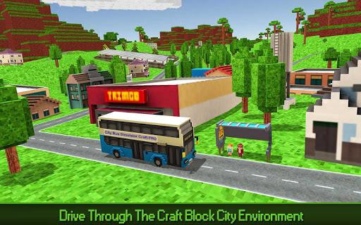 City Bus Simulator Craft PRO 1.5 screenshots 2