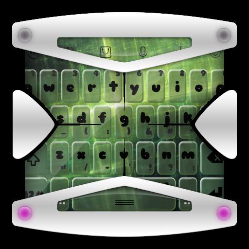 個人化App|ブライトグリーンキーボード LOGO-3C達人阿輝的APP