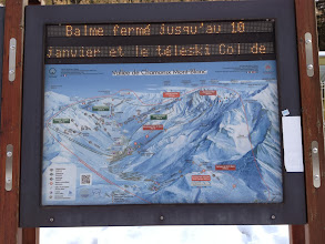 Photo: The 7 different ski areas in the vicinity