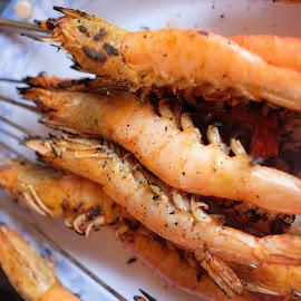 Grilled Prawn - Vietnam Style by Beh Heng Long - Food & Drink Plated Food ( vietnamese food )